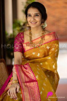 Kota Silk Saree, Bridal Silk Saree, Indian Silk Sarees, Soft Silk Sarees, Indian Beauty Saree, Kerala Saree Blouse Designs, Saree Blouse Neck Designs, Silk Sarees Online Shopping, Latest Silk Sarees