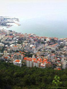 A stunning view of #Jounieh منظر رائع من #جونيه By Fady Farfoud #WeAreLebanon #Lebanon