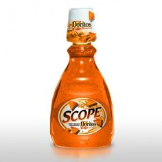 Doritos Scope -- Do any of you know the meaning of this?! @junkfoodguy @Doritos @ScopeMouthwash
