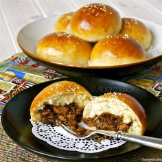 Filipino food to try!  ASADO BUNS   These are tasty and filling; good for breakfast or as a snack.