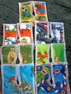 7pack Reversible & Reusable Boy Print Tracheostomy by MakeLemonaid, $18.00