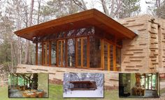 Frank Lloyd Wright's Seth Peterson Cottage | Photographs 880 sq. ft.