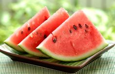 Watermelon may be one of the most appropriately named fruits. It is melon that is water . It is also got a healthy amount of Vitamin A and Vitamin C , potassium , magnesium , and other important nutrients. Eating Watermelon Seeds, Watermelon Cooler, Watermelon Slices, Watermelon Recipes, Watermelon Healthy, Watermelon Plant, Grilled Watermelon, Watermelon Nutrition, Clean Eating Tips