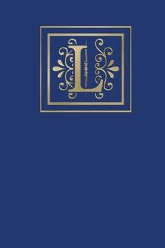 Ruled Monogram Journal L