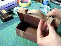 scatola valigetta: versione n.1 - YouTube