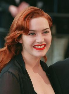 When I imagine my heroine, I usually think of young, slightly chubby Kate Winslet.  I love how she was beautiful and embraced her curves :)