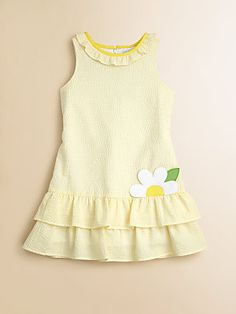 Florence Eiseman Toddler's & Little Girl's Ruffled Seersucker Dress