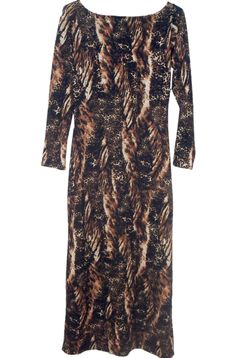 Vestido animal print lagro