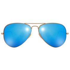 Ray Ban Copper Blue Unisex Aviator