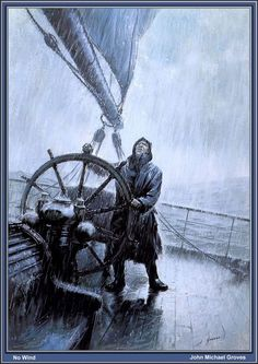 Richard Clancy uploaded this image to 'Tall Ships'. See the album on Photobucket. Bateau Pirate, Sea Storm, Old Sailing Ships, Ship Drawing, Sea Captain, Ship Paintings, Boat Art, Nautical Art, Ship Art