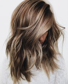 If I ever get my hair colored, I want it easy to grow out & natural looking. This is a really beautiful way to incorporate the frosty blonde trend into that without fully committing!