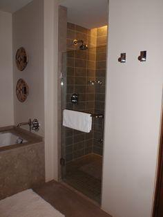 Shower @ Encantado Resort in Santa Fe New Mexico