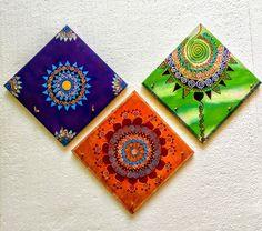 Madhubani Art, Madhubani Painting, Worli Painting, Fabric Painting, Mandala Design, Mandala Art, Indian Art Paintings, Art N Craft, Acrylic Wall Art