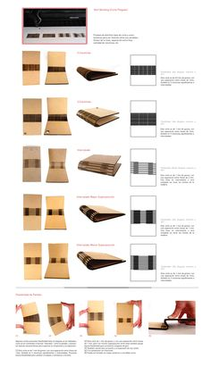 Here 39 s a collection of living hinge swatches the first for Muebles mdf pdf