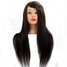 Competent Color Training Mannequin Head Female Hair Head Doll 22 Inches Mannequin Doll Head Hairdressing Training Heads Styling Tools & Accessories Hair Extensions & Wigs