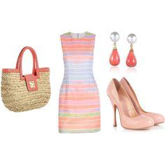 pastel summer dress
