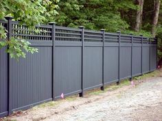 A privacy fence can add great styling and more privacy to your home and property. offers a complete line of privacy fence styles to meet your needs. Wood Fence Design, Modern Fence Design, Privacy Fence Designs, Privacy Fences, Lattice Fence Privacy, Latice Fence, Trellis On Fence, Outdoor Privacy Screens, Privacy Fence Decorations