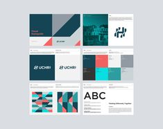G logo color schemes, brand book, visual identity, brand identity, app design Brand Identity Design, Corporate Design, Branding Design, Logo Design, Graphic Design, Corporate Identity, Brochure Design, Design Design, Cover Design