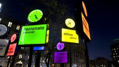 hiWHIM » THE CLOCK OF MILAN MAKES TIC TAC! WHAT IS YOUR TIME? - Giorgia Brusemini