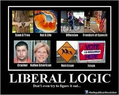 LIBERAL LOGIC: This Meme Perfectly Destroys The Liberal ...