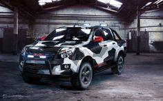 Isuzu D-Max Urban by GoodieDesign on DeviantArt Isuzu D Max, Suv Cars, Sport Cars, Pick Up, 4x4, Van Wrap, Diesel Trucks, Black Ops, Corvette