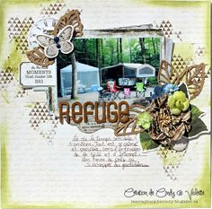 Scrapbooking 2016, Lime Citron, Cuts2luv, Prima