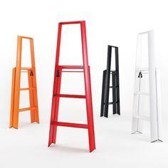 LightWeight™ Folding 3-Step Aluminum Step Stool - Ladder - Stool