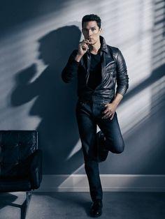 Sebastian Kim photographs one of GQ's new 'Man of the Year' Matthew McConaughey, Dec 2013