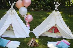 Gone Glamping!  Sommer's 7th Birthday! | CatchMyParty.com