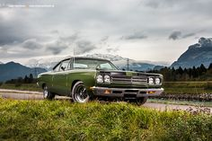 AmericanMuscle.de - Fotoshooting: 1969 Plymouth Road Runner