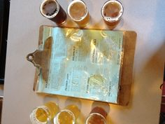 This was the beer sampler from Chuckanut Brewery in Bellingham, Washington. The Kolsch was outstanding!