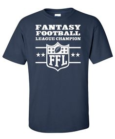 Fantasy Football Legend Champion Tshirt TShirt Tee by Bargoonys, $14.99