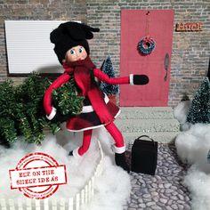I'm Baaaaaaack! Elf on the Shelf Returns. New downloadable themes released all week! Join our Elf Community group - Free! organizedCHAOSonline #ElfOnTheShelf #ElfIdeas