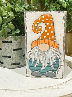 Fall Arts And Crafts, Christmas Crafts To Make, Christmas Gnome, Christmas Wood, Rock Crafts, Primitive Christmas, Cute Crafts, Holiday Crafts, Christmas Clock