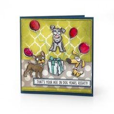 Stampers Anonymous Tim Holtz Mini Cats and Dogs Stamps