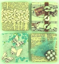Magnets- use old awake/ WT articles or stained/old songbook lyrics!