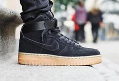 the latest 23c28 629fe Air Force 1 Noir, Air Force 1 High, Af1 Shoes, Nike Air Force