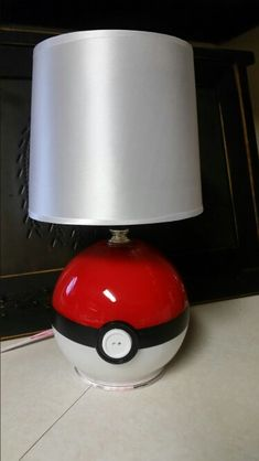 Diy pokeball lamp