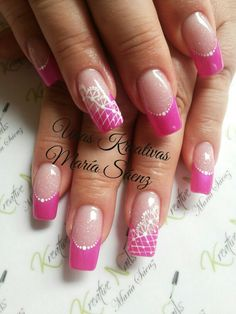 Gorgeous Nails, French, Finger Nails, French Tips, Fingernail Designs, Manicure Ideas, Ongles, French People, French Language