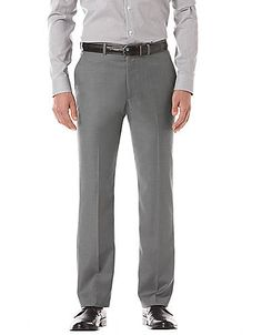 Perry Ellis Men's Black Slim-Fit Flat-Front Pant Men's $69.50 #coupay #fashion #mens