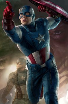 Legends Captain America Stan Lee SIGNED Marvel Giclee on Canvas Limited Edition of 195 Art by Randy Martinez