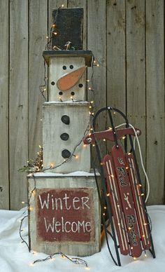 Snowman Stack -