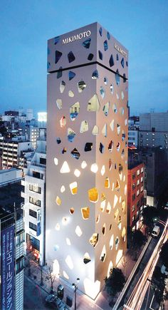 Your favourite interesting and amazing buildings - Page 6 - SkyscraperCity Mikimoto Building Tokyo Japan