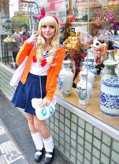 sailor moon fashion