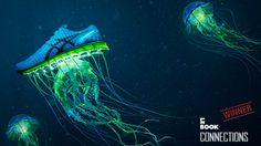 Launch of Gel Quantum 360 and 180 - Asics America on Behance Creative Portfolio, Motion Design, Jellyfish, Motion Graphics, Asics, Digital Art, Product Launch, America, Animals