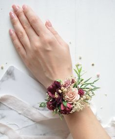 Fresh Wedding Flowers - Have You Ordered These Nine Arrangements For Your Wedding Day? Wrist Corsage Wedding, Prom Corsage And Boutonniere, Bridesmaid Corsage, Wedding Bouquets, Bridesmaids, Boutonnieres, Homecoming Flowers, Prom Flowers, Wedding Flowers