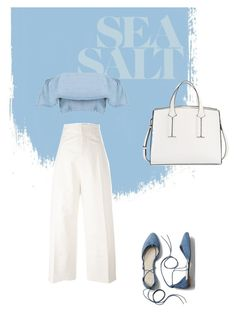 """""""Pretty in Blue"""" by fluffyflavi on Polyvore featuring Jacquemus, Gap and French Connection"""