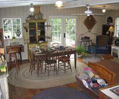 rug hooking studio