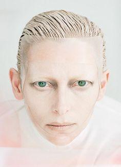 Tilda Swinton photographed by Tim Walker for W Magazine August 2011