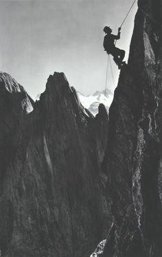 old skool mountaineering
